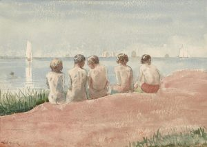 Winslow Homer (American, 1836-1910), 5 Boys