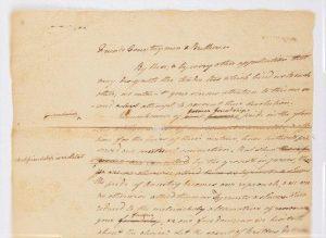 historic letter