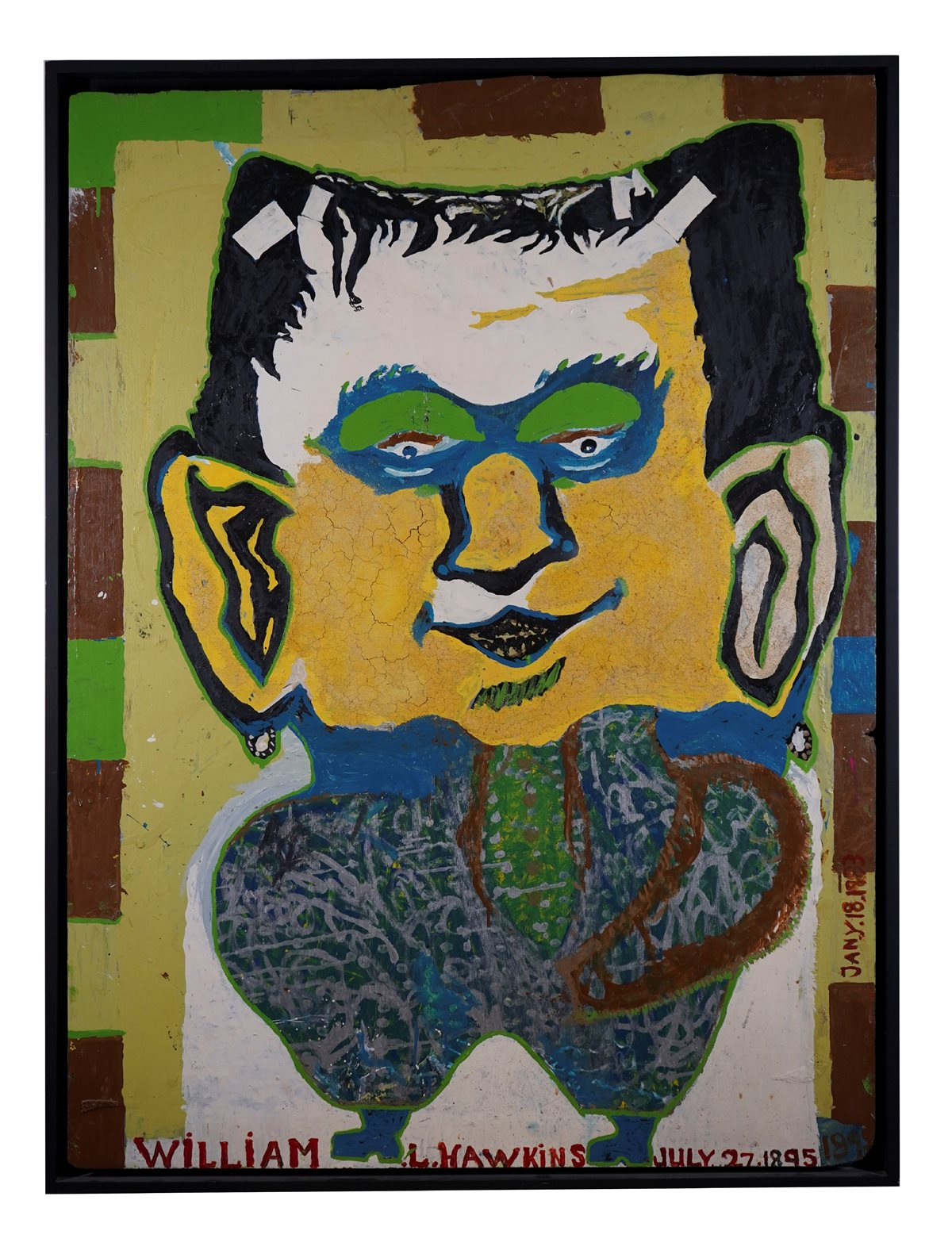 William L. Hawkins (1895-1990) Frankenstein $41,600.00